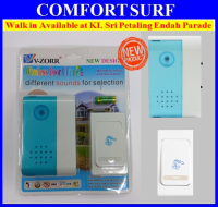 V-Zorr Wireless Door Bell - High Distance Door Bell Wireless No Wiring Needed