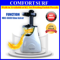 Function HDC-S600 Professional Anti-Oxidation Low Speed Extractor Fruit Slow Juicer