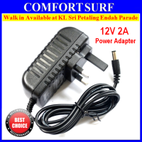 Quality 12V 2A 24W CCTV Camera Power Adapter 3 Pin Plug Adapter
