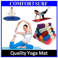 High Quality 6mm / 10mm Non Slip Yoga Mat for Aerobic GYM Fitness Yoga Exercise 173cm / 183cm / 185cm