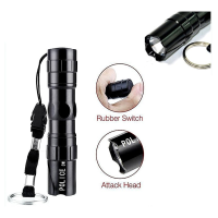 3W Aluminium Case Mini LED Focus Light Camping Torchlight Flashlight