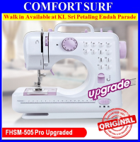 Original FSHM-505A Pro Upgraded 12 Function Mini Portable Handheld Sewing Machine
