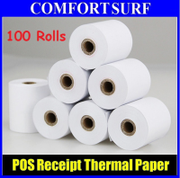 100 Rolls POS Cash Register Thermal Receipt Paper 57x50mm / 80x50mm