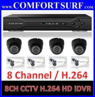 8 Channel CCTV H.264 Full D1 Network HD DVR Digital Video Recorder
