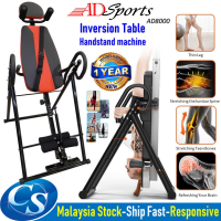 ADSports AD8000 Inversion Therapy Table Back Stretching Handstand Machine Traction for Back Pain Stress Relief