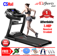 FREE 7Gifts - 3.0HP ADSports AD509 Home Exercise Gym Fitness Electric Motorized Treadmill Running Machine