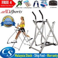 ADsport Air Walker Elliptical Glider Machine Sports Fitness Exercise Trainer Foldable Air Walker with Pedometer