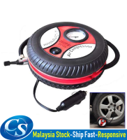 Portable Auto Car Pump Tire Tyre Inflator Mini Air Compressor Pump Tayar Kereta