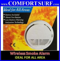 Wireless Smoke Fire Detector Sensor for wireless alarm GSM/PSTN Security System