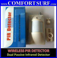 Wireless PIR Dual Passive Infrared Motion Sensor for wireless alarm System