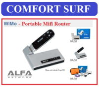 Alfa WiMo 3G Mobile Portable Wifi Mifi Router