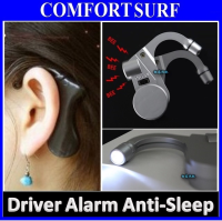 Car Driver Alarm Alert Anti-Sleep Alarm Awake Safe Drive Nap Zapper + Light