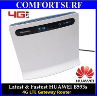 Latest 100Mbps Huawei B593 4G LTE Cat 4, 3.5G HSPA+ WCDMA WiFi Gateway Router