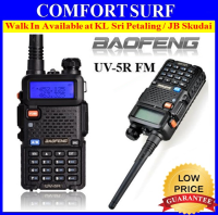 ORIGINAL Baofeng UV-5R Walkie Talkie Dual Band UV5R Portable 2 Way Radio
