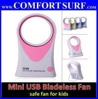 Mini USB / battery Bladeless Fan - Safety fan for kids