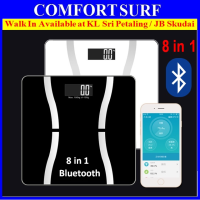 2016 Bluetooth Digital Body Fat Analyzer Body Weight Fat Water Muscle Bone BMI Calorie Scale