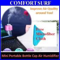 FreeCloth Mini USB Portable Water Bottle Caps Air Fresh Humidifier Purifier