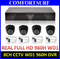 Latest 8 Channel CCTV Full HD 960H WD1 Network DVR Video Recorder
