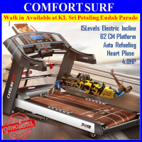 4.0HP Chislim 7013 Electric Auto Incline Treadmill 62CM Wide Platform 4Ways Spring Damping