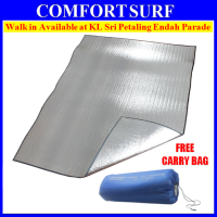 Outdoor Camping Waterproof Aluminium Foil Film Tent Sleeping Floor Eva Mat + FREE Carry Bag
