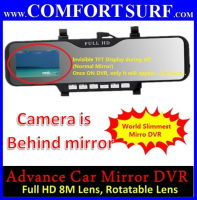 "Car Mirror Rearview Full HD DVR CCTV 2.7"" LCD Screen Camera Camcorder"