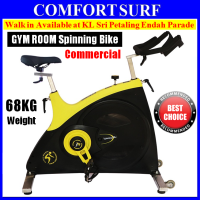 CSB77 Commercial GYM Room Spinning Exercise Bike 23KG Flywheel, 68KG Stainless Steel