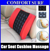 Car Cushion Seat Massage Memory Foam Electric Back Support Vibration Massager