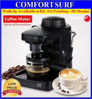 Fagor CR-1000 Steam Pump-Driven 5 Bar Espresso Italian Coffee Maker Machine