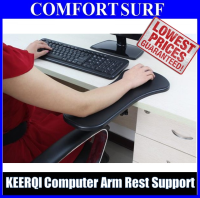 KEERQI Computer Arm Rest Support Desk Table Clamp For Use Mouse Keyboard