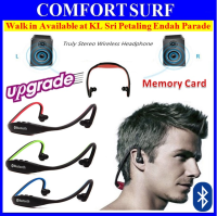 DLS9 Sport Wireless Bluetooth 4.0 Handsfree Headset FM Radio MP3 MicroSD