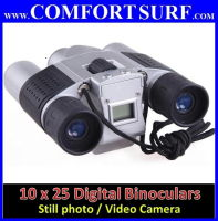 10 X 25 Zoom Digital Binocular Spy Camera Video Still Image LCD Telescope