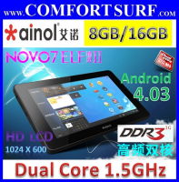 Ainol Novo7 Elf II Dual Core 16GB HD Android 4.0.3 ICS Tablet PC