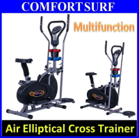 Multifunctional Orbitreck Air Elliptical Cross Trainer Twister Cardio Exercise Bike & Fitness