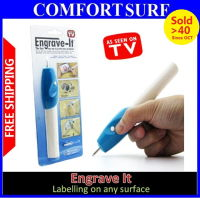 Engrave IT Electric Engraving Pen Carving and Labelling on Any Surface / Survenir
