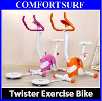 Added Twister Exercise Bicycle Super Silence Gym / Fitness Equipment Cycling Bike