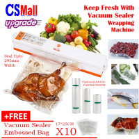 Fresh pack Pro Vacuum Food Sealer Fresh Maintaining Packing Machine + FREE 10 BAGs