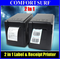 2 in 1 GPrinter GP-2120TF Quality Barcode Label & Receipt Tag Thermal Printer