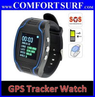 GPS Tracker Wrist Watch Real Time Tracking + SOS + 2 Way Calling!