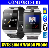 "Aplus GV18 Sim GSM + Bluetooth Smart Watch Phone 1.55""  NFC Camera"