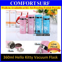 Hello Kitty Stainless Steel Vacuum Flask Insulated Thermos Bottle