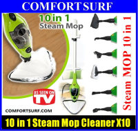 3rd Generation H2O Mop X10 10in1 Multi-Floor Steam Mop Cleaner Steamer with Accessories