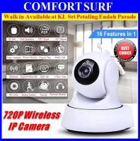 Wide Angle 720P HD P2P Wireless CCTV IP Camera Alarm Motion Sensor + IR Night Vision