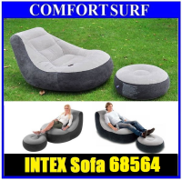 INTEX 68564 Ultra Lounge Inflatable Relaxing Single Air chair Seat Sofa