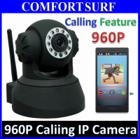 SecurEyes 1280*960P HD P2P Wireless IP Camera IR / MicroSD /Motion Alarm Calling