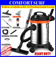 Heavy Duty 1000W 3-in-1 Dry / Wet / Blower 15L Vacuum Cleaner - FREE Dust-mite Cleaner
