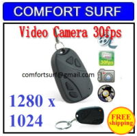 Mini Car Key Chain Keychain Spy Camera Video Recorder Remote Control