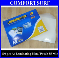 Thickness:55 Micron High Quality Laminating Pouches Film A4 Size for File, Cards, Photos and More!