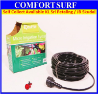 23m Self Watering Micro Drip Irrigation System Garden Hose Kits for Pot Plants, Flower Beds, Border