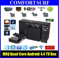 MXQ Amlogic S805 Quad Core Android 4.4 Smart TV Box XMBC HD Player