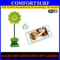 Macro See Sunflower Wifi Camera Baby Monitoring CCTV Spy Camera
